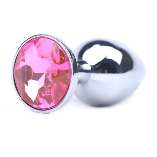 Light Pink Precious Jewel Butt Plug
