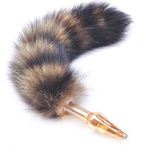Small Fox Tail Butt Plug
