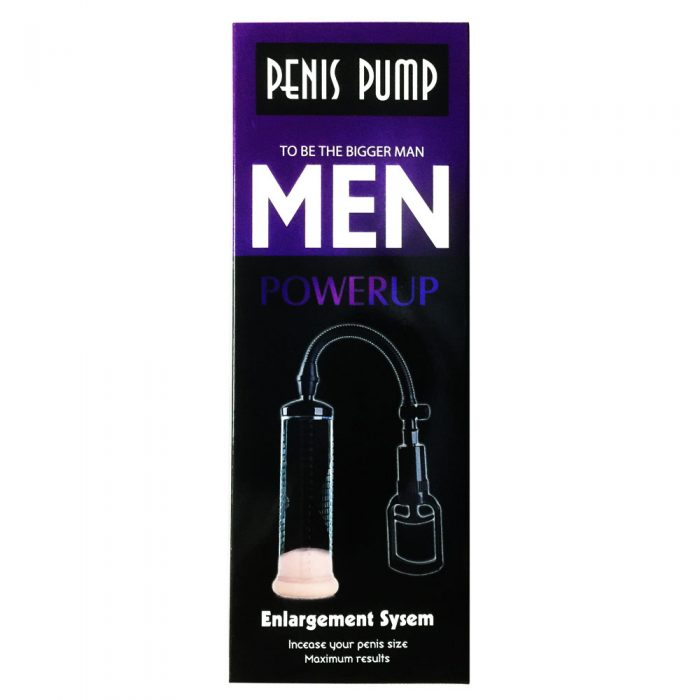 Black Vibrating Penis Pump with Vaginal Sleeve