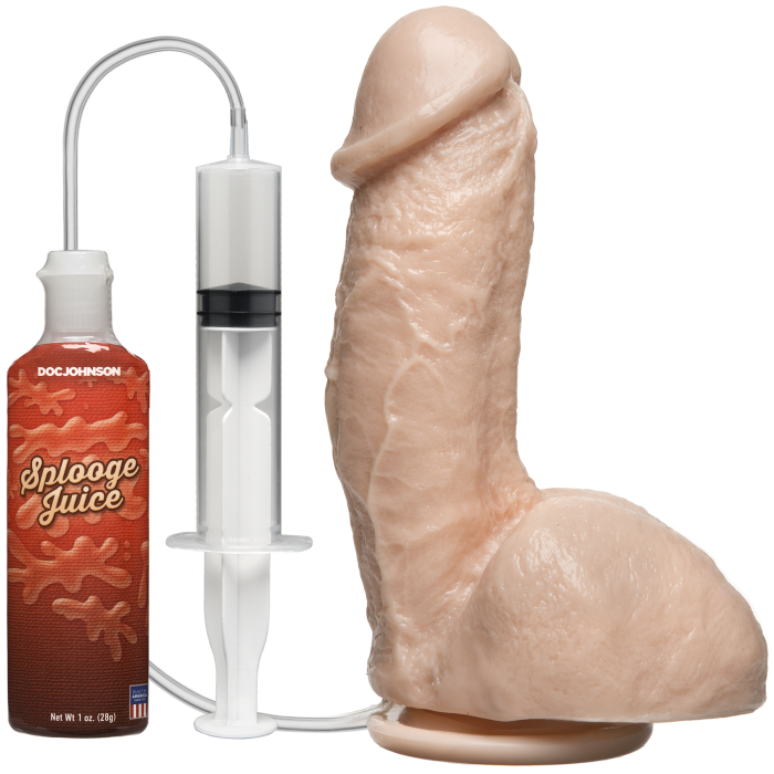 The Amazing Squirting Realistic Cock