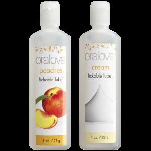 Oralove - Delicious Duo - Peaches & Cream - 2 Pack