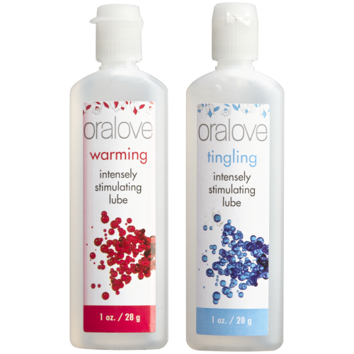 Oralove - Dynamic Duo - Warming & Tingling - 2 Pack