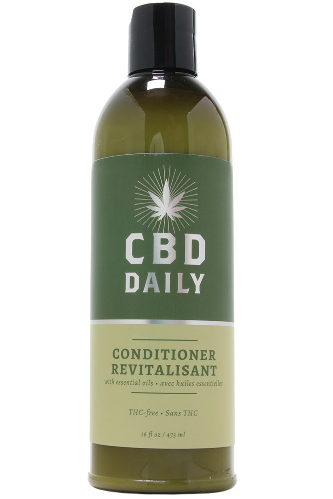 Earthly Body THC Free CBD Daily Conditioner